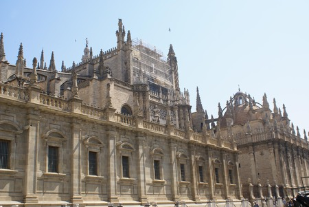 Seville Cathedral, Seville, Andalusia, Spain Stock Photo