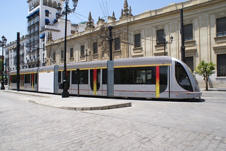 streetcar: Tram. tramcar. streetcar. trolley car.