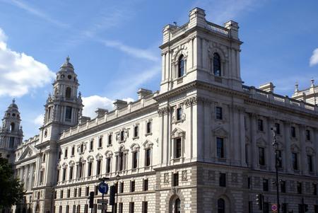 treasury: HM Treasury. The Exchequer. The Treasury, London, England