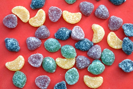 flavours: Sweet jelly candy sweets confectionery with fruit flavors