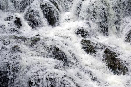 oxfordshire: waterfall