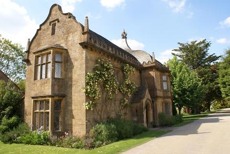 gatehouse: old gatehouse Stock Photo