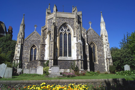 dover: St Marys Church, Cannon Street, Dover, Kent, England