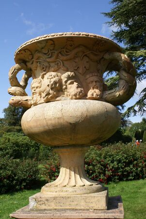 vase: vase. urn Stock Photo