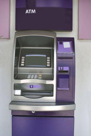 bankomat: cash machine. ATM. ABM Stock Photo