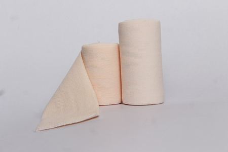 gauze: Gauze rolls Stock Photo
