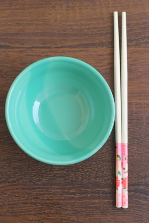 house ware: bowl and chopstick