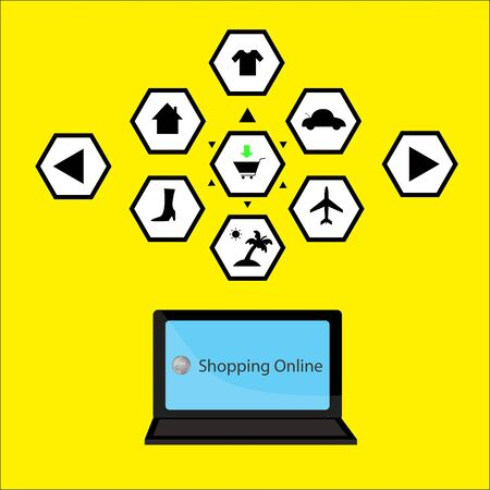 icon internet shopping