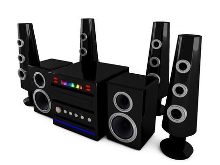 hi end: 3d Stereo speakers