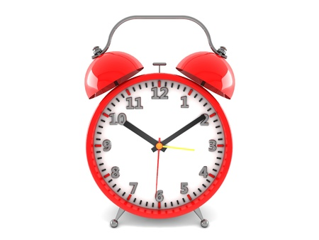 3d alarm clock Stock Photo - 18235832