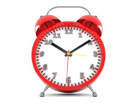 3d alarm clock Stock Photo - 18235833