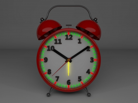 3d alarm clock photo