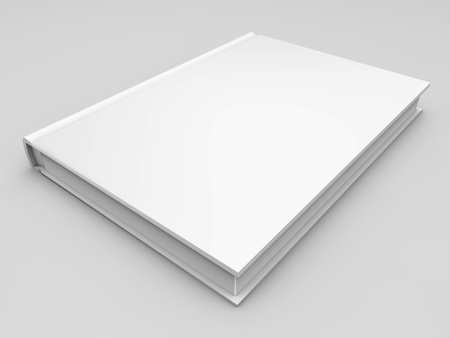 paperback book: Blank book cover