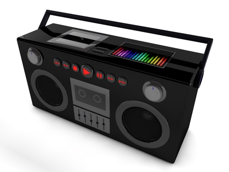 3d radio  Stock Photo - 19109373