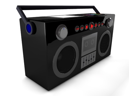 3d radio  Stock Photo - 19109372