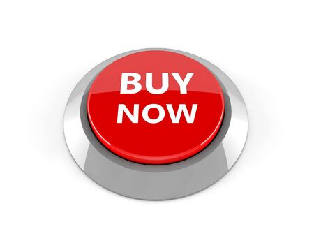 buy now: 3d buy now button Stock Photo