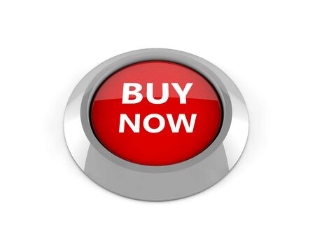 3d buy now button Stock Photo