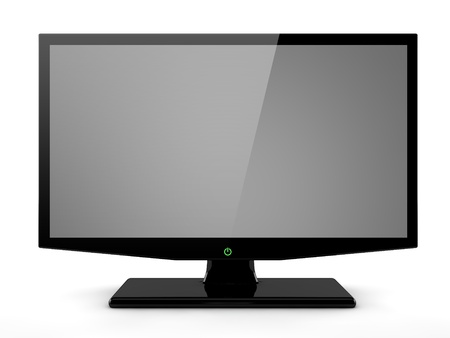 computer screen: Computer monitor
