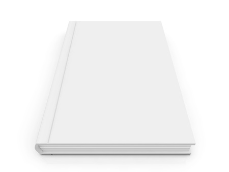 Blank book cover  photo