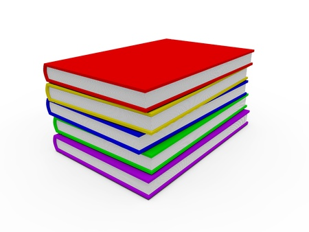 blank book cover: Blank book cover  Stock Photo