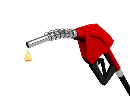 Gas pump nozzles photo