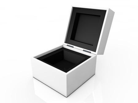 matchbox: blank box isolated on white background