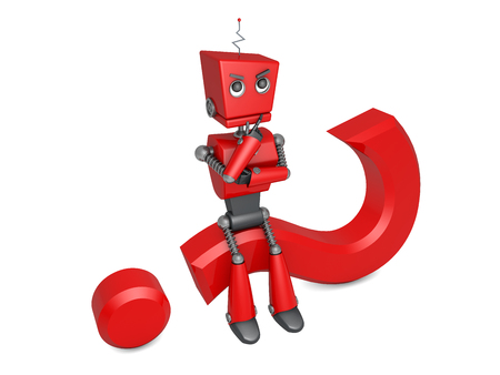 red robot photo