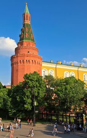 Moscow Kremlin on Red Square in Moscow, Russia
