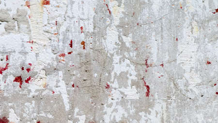 Natural old concrete wall texture. Vented concrete background as a wall for interior and exterior design