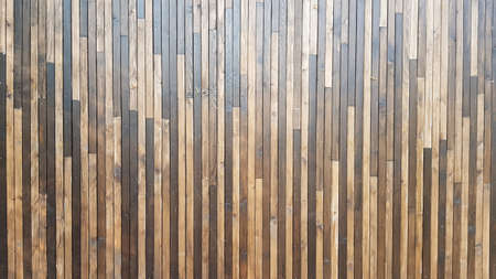 Texture of wooden wall background. Natural brown background for design, copy space