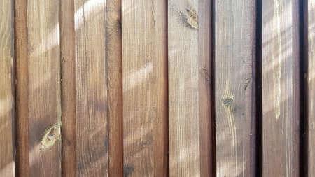 natural brown wood lath line arrange pattern texture background. Wood texture, wood background. seamless wooden texture of floor or pavement, wooden pallet. Stockfoto