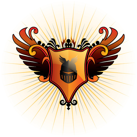 herald: Herald Emblem Illustration