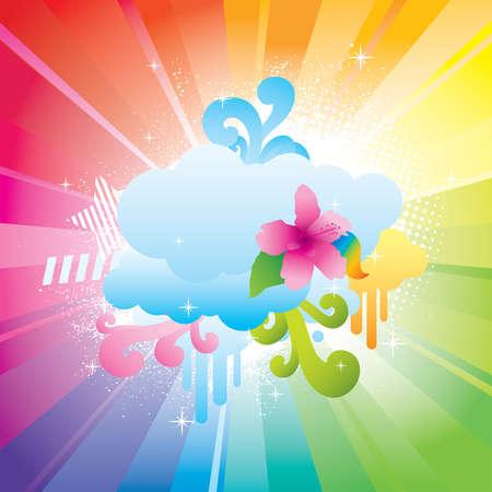 Cloud Colors Vector