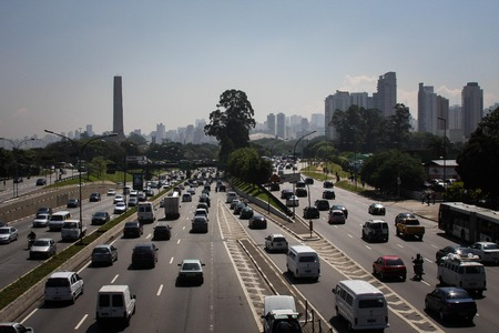 Sao Paulo roadways photo
