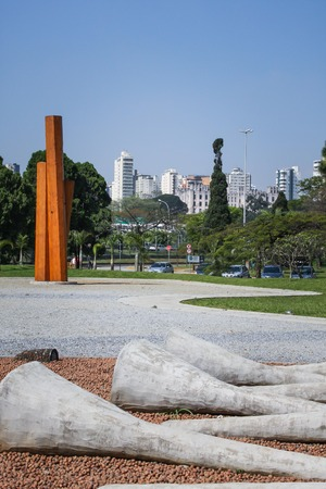 Park sculptures photo