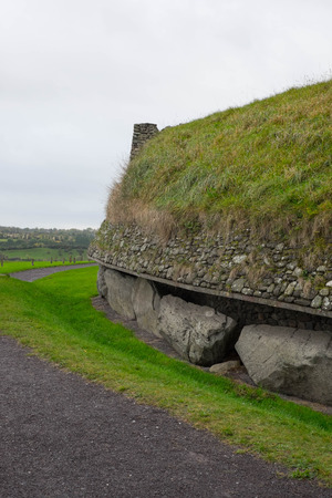 co: Side view of the ancient site in Co Meath