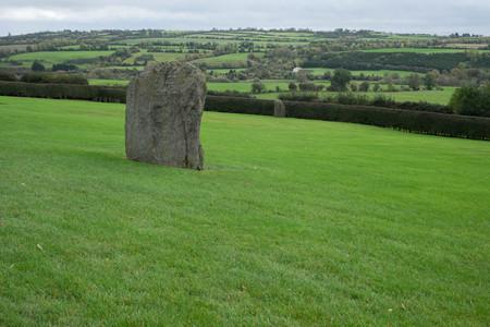 co: Ancient stone at Newgrange, Co Meath