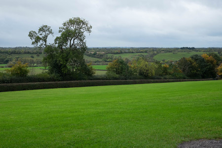 co: View from the ancient burial site in Co Meath