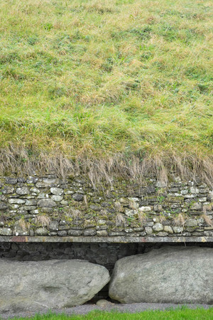 co  meath: Side view of the ancient site in Co Meath
