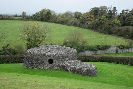 co  meath: Ancient stone structure at Newgrange, Co Meath
