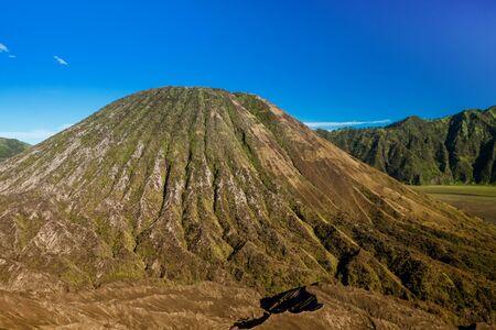 tengger: Volcanic formation in Bromo Tengger Semeru national park, Indonesia Stock Photo