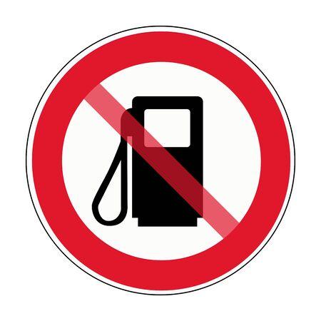 So fuel station sign