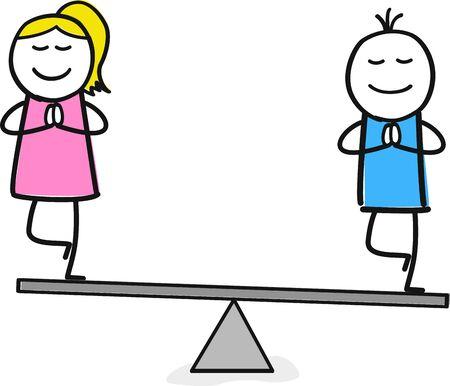 balance between man and woman