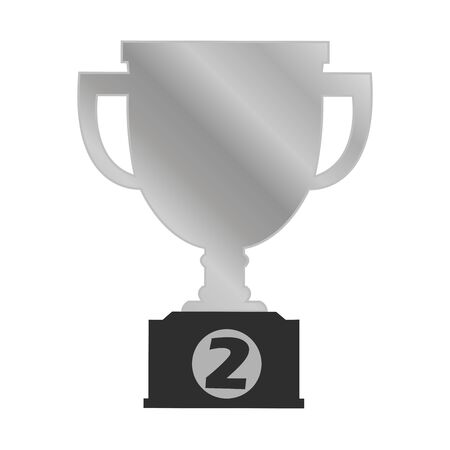 Second trophy vector