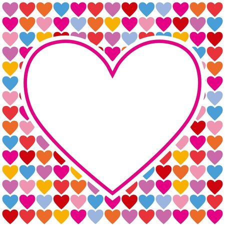 backdrop: Vector background for Valentines day card