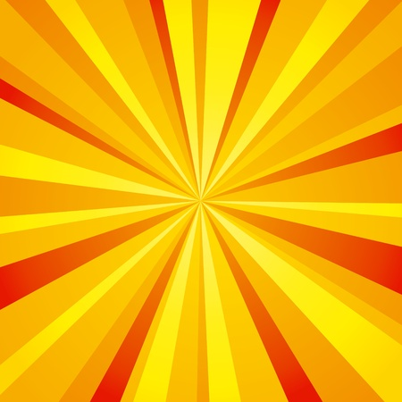 Bright background with sun rays. Stock Vector - 10928030