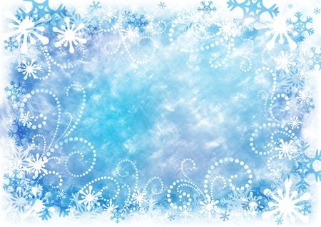 Decorative Christmas background photo