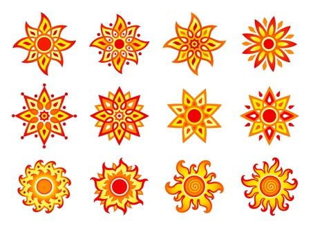 suns: Stylized suns