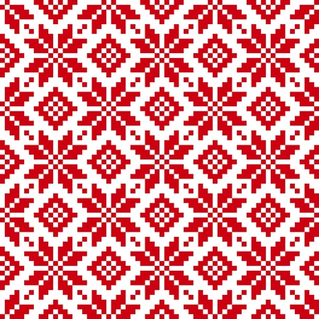 Seamless ethnic pattern. EPS 8 Vector