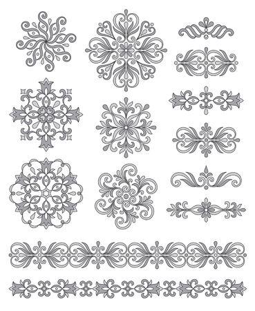 escarapelas: Artículos decorativos, bordes y rosetas